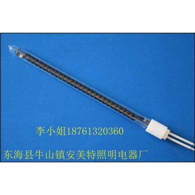 厂家定制大管径大功率碳纤维石英玻璃单端电热管-安美特