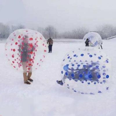 诺泰克儿童游乐设备 雪地环保充气碰碰球