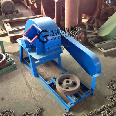 树枝粉碎机 志乾果树粉碎机 锯末粉碎机 多功能小型木材粉碎机
