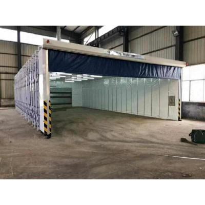 废气处理设备多用途移动伸缩房生产厂家