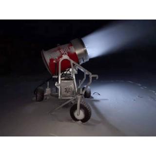 克服低温环境制冷设备 雪质干而细腻人工造雪机厂家