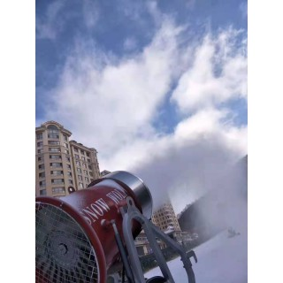 哈尔滨造雪佳寿命长造雪设备 炮式造雪机多场合适用