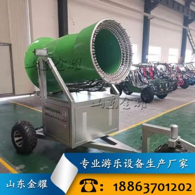 济宁造雪机厂家直销 人工自动降雪设备 嬉雪游乐设备