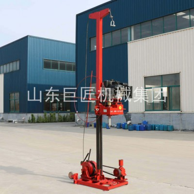 华夏巨匠 模块式岩芯取样钻机 轻便地质勘探设备柴油机型