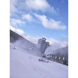 山西低投入造雪设备 人工造雪机提升造雪速度