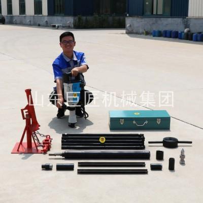 华夏巨匠 电动型取土钻机 无扰动土取样小型地质勘探设备