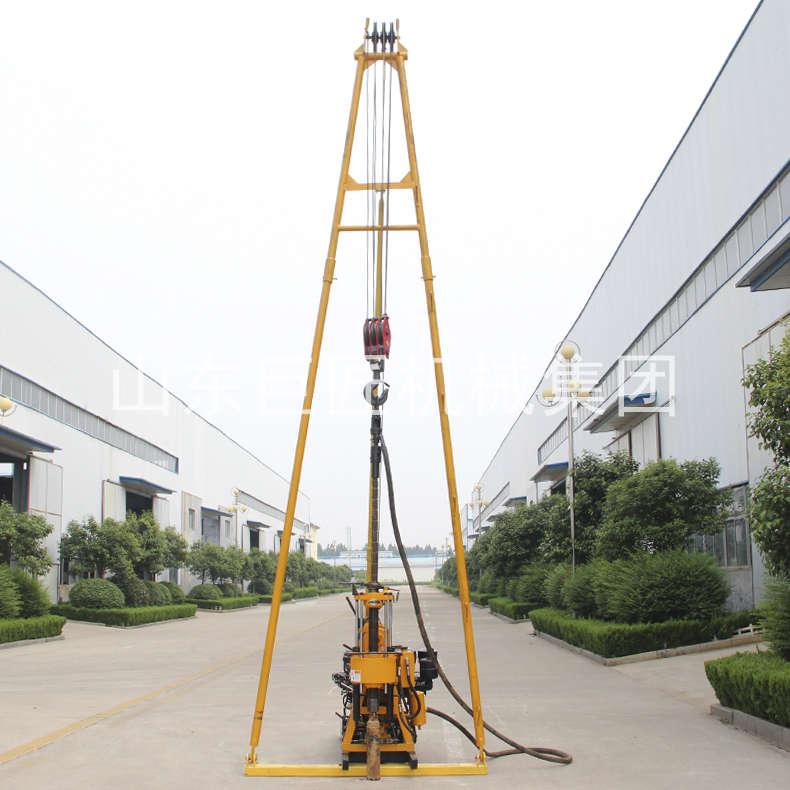 巨匠集团实力200米钻机液压式水井钻机打井柴油动力