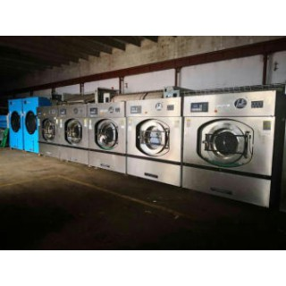 天津常年转让二手大型洗衣房设备二手100公斤洗脱机
