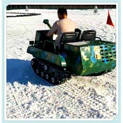越野坦克车 电动坦克车 双人亲子游乐坦克车 景区游乐项目