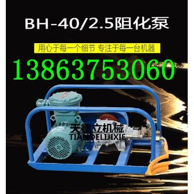 BH-40/2.5矿用阻化泵 3KW电动阻化泵 电动阻化泵