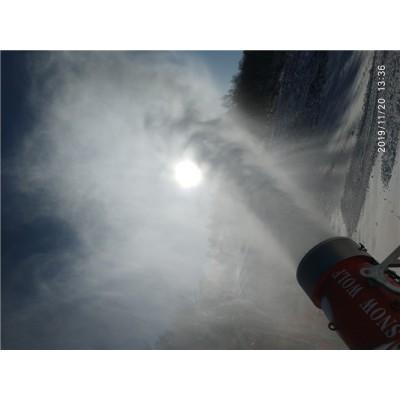 滑雪场造雪设备选购方法 人工造雪机对造雪期影响