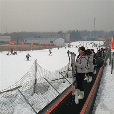 滑雪场输送设备的作用  红光感应魔毯厂家技术参数