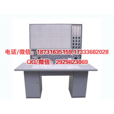 HYK-825H电工、电子、电拖(带直流电机)教师示教实验台