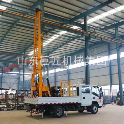车载式勘探钻机 液压岩芯取样设备山东巨匠勘探设备厂家