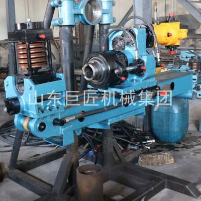 600米探矿钻机坑道取芯设备山东巨匠钢索取芯钻探机