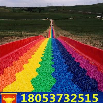 目生态园公园彩虹滑道金针菇滑道大型彩虹滑道游乐项目