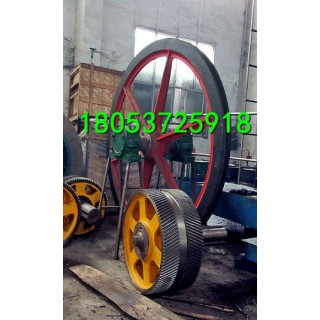 凿井天轮 游动天轮直径 固定天轮厂家销售 凿井天轮价格