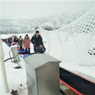 景区适用性高的七彩云梯设备 诺泰克滑雪场智能输送带魔毯价格