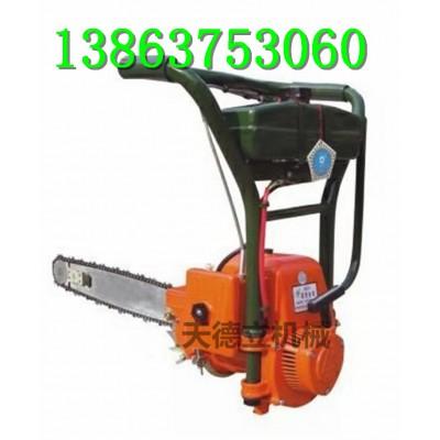 QBJ450汽油切冰锯 手持式切冻冰机 链条式切冰锯