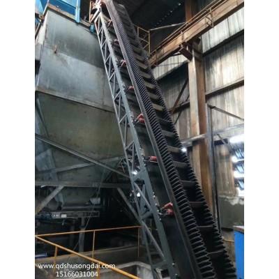 煤炭开采大倾角传送机 粮食带式输送机 青岛联众