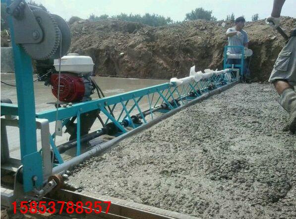 框架式水泥摊铺机标节式混凝土整平机的厂家报价
