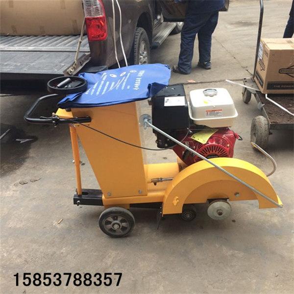 小型柴油切缝机手推式道路割缝机的操作注意事项
