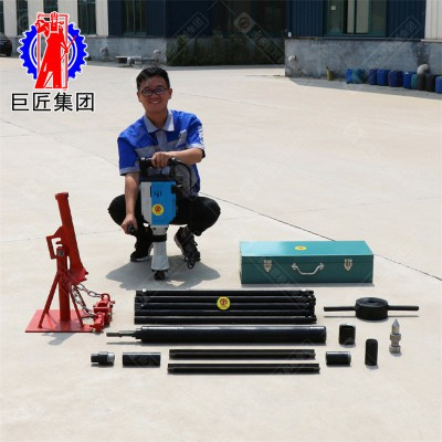 完整土壤取样钻机15米电动取土钻机山东巨匠QTZ-3D型厂家