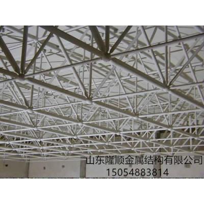淄博市加油站网架罩棚 隆顺金属网架工程承建