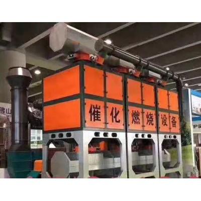 喷涂行业的废气处理工艺催化燃烧设备