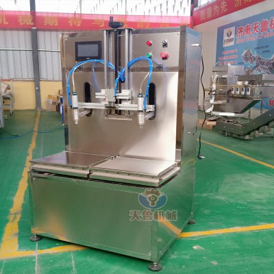 葵花油灌装机 桶装肥灌装机 西安单头气动液体灌装机