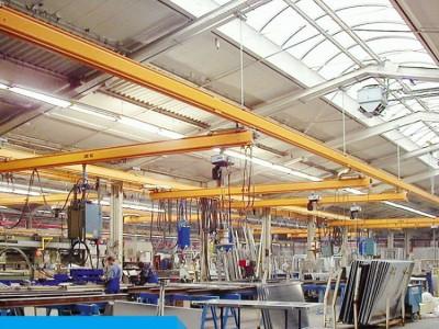 杭州洁净铝合金轨道轻型KBK起重机设备厂家