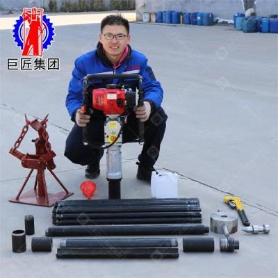 内燃机环境检测设备小型土壤取样钻机山东巨匠15米取土钻机