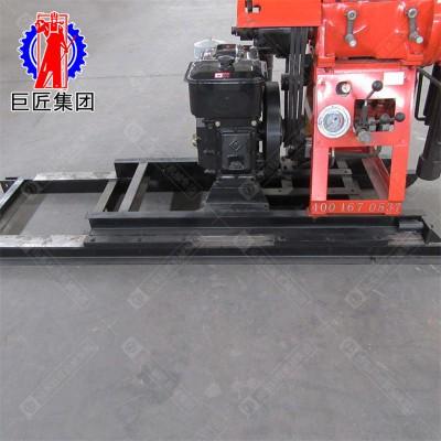 百米钻机厂家山东巨匠 房屋勘探设备取芯钻机移机型