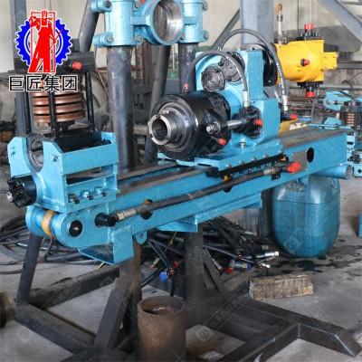 全液压坑道钻机250米探矿设备山东巨匠矿山钻机厂家