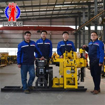 地质勘探设备 液压式岩芯取样钻机山东巨匠130型厂家直销