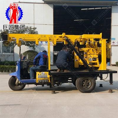 三轮车式地质勘探钻机 地质勘探设备巨匠集团岩芯取样厂家