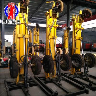 供应华夏巨匠 气动水井钻机KQZ-180D型民用打井机