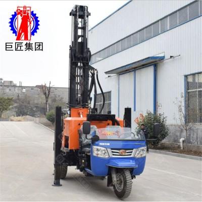 三轮车式气动水井钻机华夏巨匠民用大型打井机