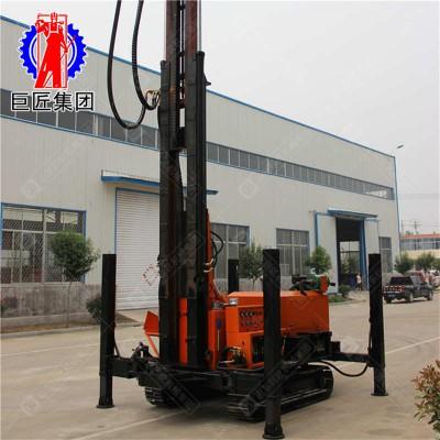 华夏巨匠履带式打井机 家用打井机大型设备 气动钻井机