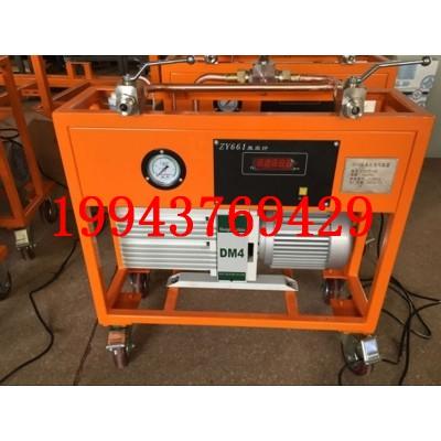 SF6气体抽真空充气装置气速率≥45L/s电力承装修试资质