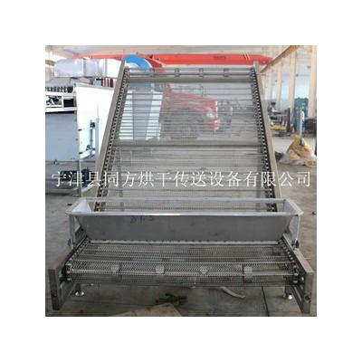 加工定制不锈钢网带输送机提升机输送机