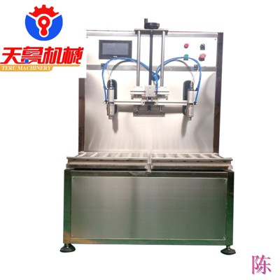 青岛椰果果粒灌装机 桶装肥灌装机 润滑油灌装机