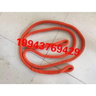 高空作业安全绳电力蚕丝绳绝缘蚕丝精细双编绳