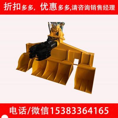 铁路更换设备枕木更换器 挖机枕木更换机水泥枕换枕器