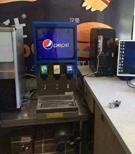 百事可乐机多钱一台蚌埠可乐糖浆气瓶商家