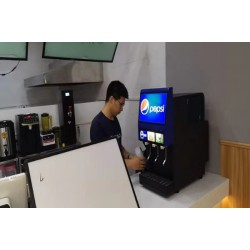 西式餐厅可乐机怎么装临汾可乐机代理