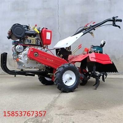 小型手扶耕地机多功能柴油开沟机操作简单便捷