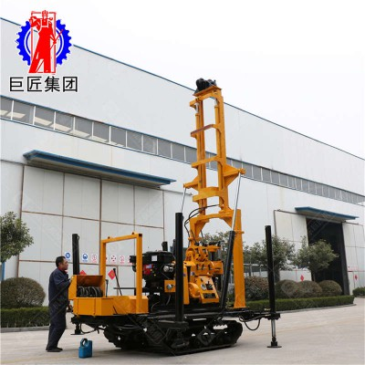 巨匠履带式水井钻机XYD-200大型打井设备钻井机200米