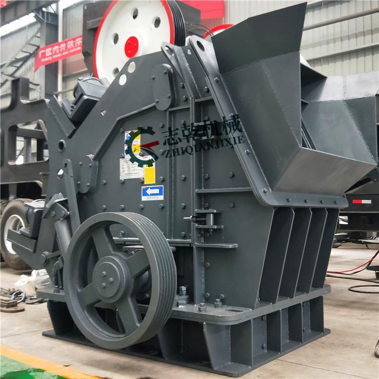 新型大口石料破碎机 欧版反击制沙机 整套制砂生产线 志乾 制砂机