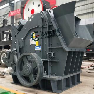 建筑垃圾处理设备 大口欧版反击破碎机 碎石机 全套制沙设备